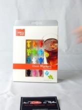 Décors adhésifs verres à vins x12
