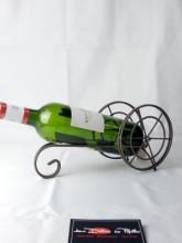Porte bouteille Canon métal