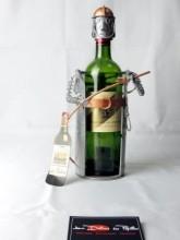 Porte bouteille Pompier