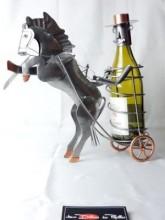 Porte bouteille Cavalier