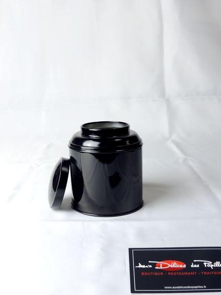 Boite à thé métal Boudha noir 125g