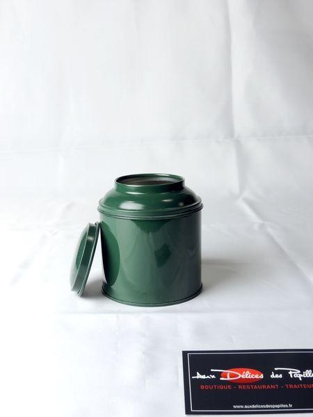 Boite à thé métal Boudha vert 125g