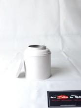 Boite à thé métal Boudha blanc 125g