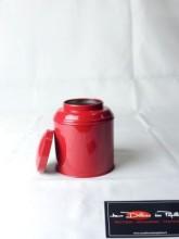 Boite à thé métal Boudha rouge 125g
