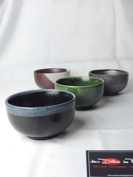Coffret 4 mugs en terre cuite 40cl