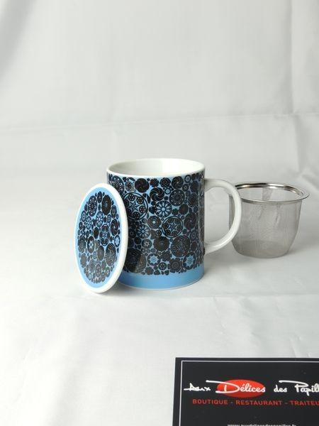 Mug Victoria bleu