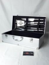 Coffret barbecue aluminium 5 accessoires