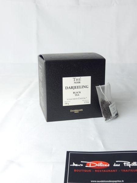 Thé noir Darjeeling 50 sachets