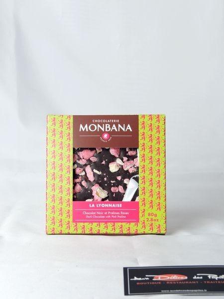 Tablette chocolait noir La Lyonnaise