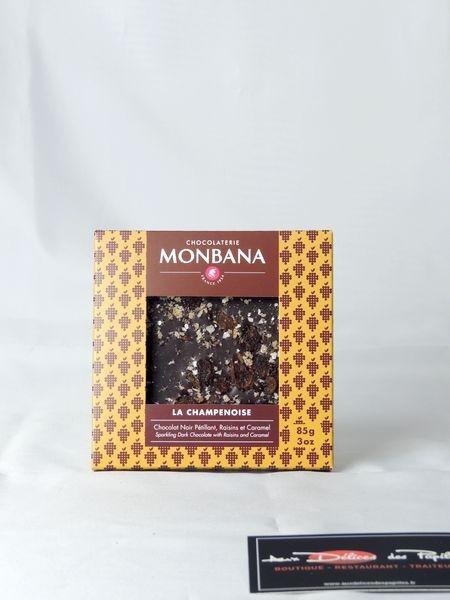 Tablette chocolat noir La Champenoise