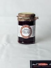 Confiture Pêche de vigne sucre de canne 325gr