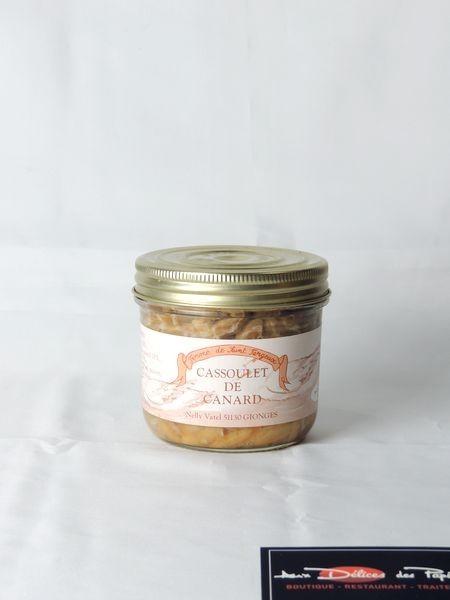 Cassoulet de canard artisanal 490g