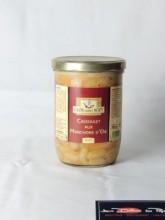 Cassoulet manchons d'oie artisanal 2 parts