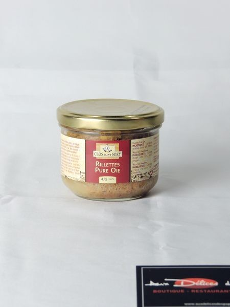Rillettes d'oies 4/5 parts