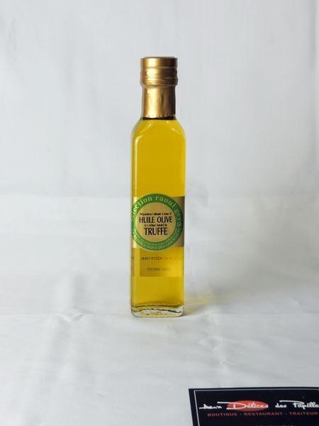 Huile d'olive et arôme naturel de Truffe 25cl
