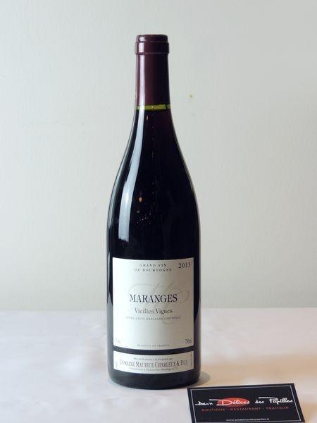 Maranges Domaine Charleux vieilles vignes