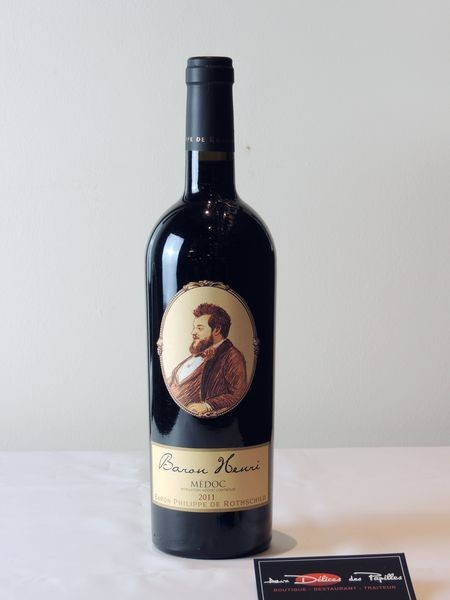 Bordeaux- Médoc Baron Henri Baron P. de Rotshchild