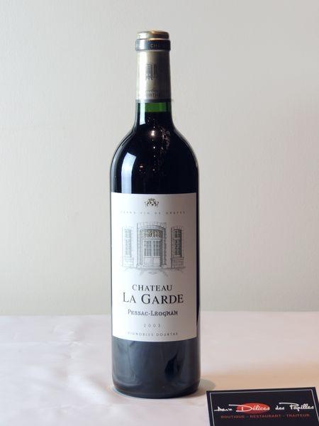 Bordeaux-Pessac-Léognan Cht La Garde Vignobles Dourthe