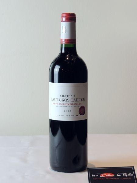 Bordeaux- Saint-Emilion Grand cru Cht Haut gros Caillou Vignobles Dourthe
