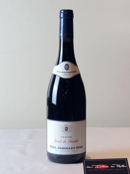 Côtes du Rhône-Syrah Secret de Famille P. Jaboulet