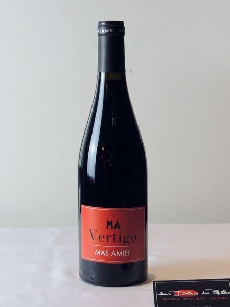Languedoc- Roussillon-Vertigo Mas Amiel rouge