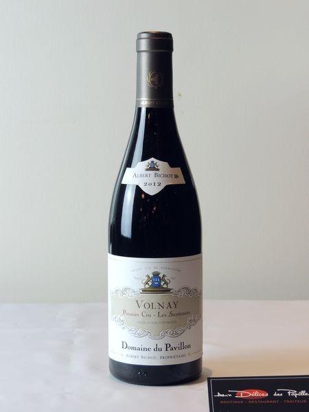 Bourgogne-Volnay 1er cru Les Santenots Domaine du Pavillon A. Bichot