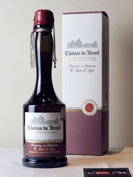 Calvados Cht du Breuil Réserve du Château 8 ans d'âge
