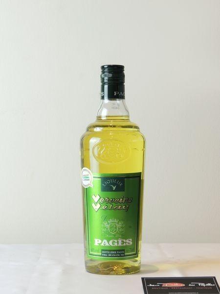 Liqueur Verveine du Velay jaune Pagès