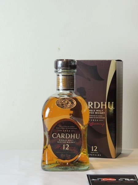 Cardhu 12 ans d'âge - étui