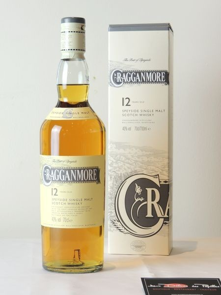 Scotch Cragganmore Speyside 12 ans d'âge