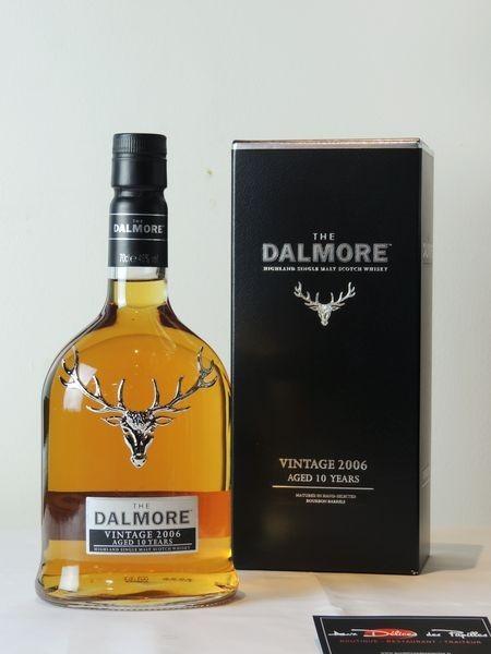 Scotch The Dalmore Vintage 2006 10 ans d'âge