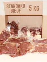 Caissette de 5kg de boeuf- La ferme de Challouet - Eleveur Charles Verriest