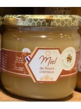 Miel artisanal de fleur crémeux  500gr