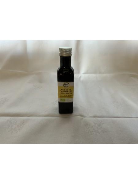Extrait de vanille Bourbon Bio avec grains 75ml