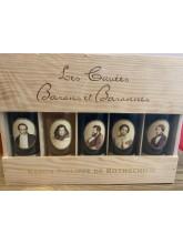 Caisse 5 barons et baronnes- Médoc-Pauillac-St émilion-Graves-Sauternes- Rothschild