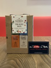 Travel Box Café-Tasse mini-tablette de chocolat 450g