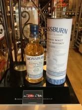 Scotch whisky blended malt épicé et fumé vieilli 3 fûts différents MOSSBURN